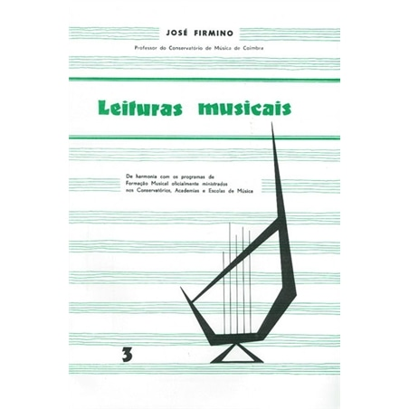 LIVRO LEITURAS MUSICAIS Nº 3 JOSE FIRMINO - 803200401