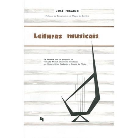 LIVRO LEITURAS MUSICAIS Nº 4 JOSE FIRMINO - 803200402