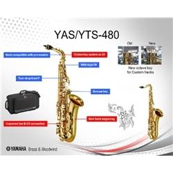 SAX TENOR YAMAHA YTS 480 - 175113425