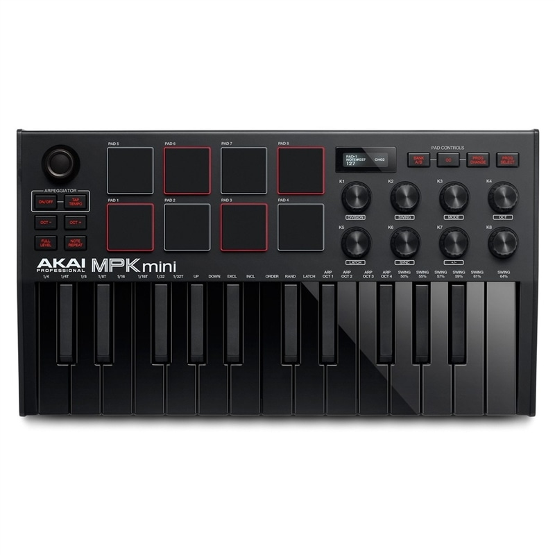 AKAI MPK-MINI MK II BLACK - 100618533