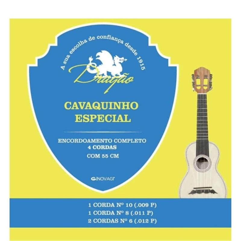 JOGO CORDAS CAVAQ ESP 2/6/8/10 - 900004872
