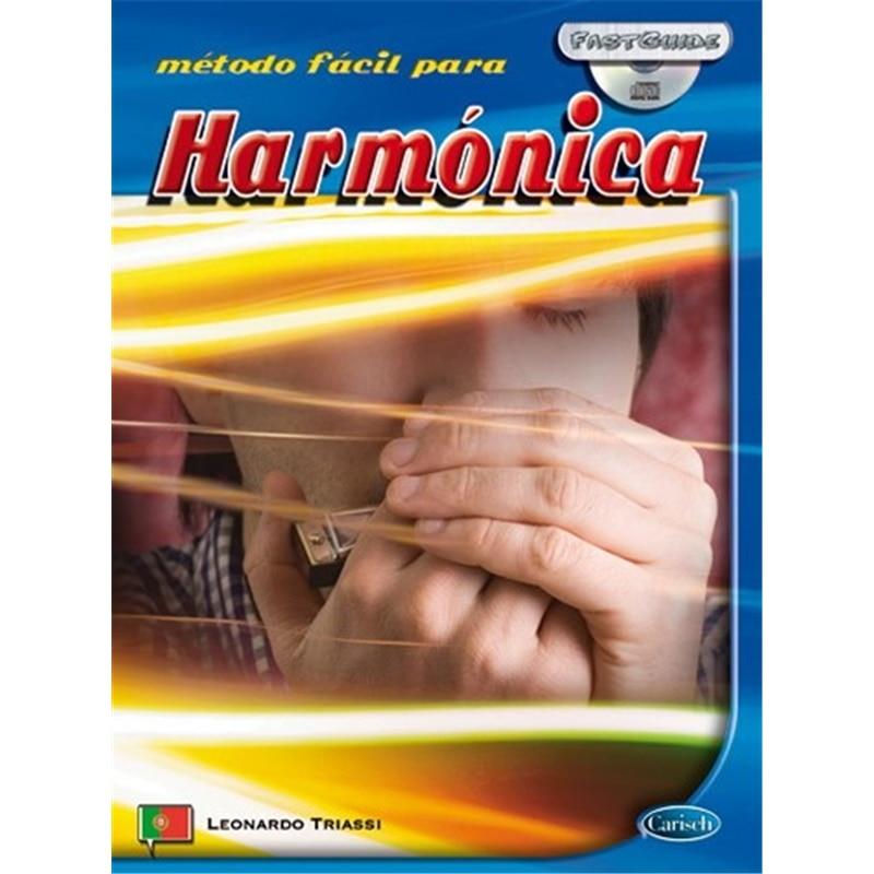 LIVRO METODO FACIL HARMONICA ML3155 - 800000676