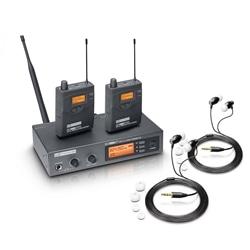 SISTEMA IN EAR LD SYSTEMS MEI 1000 G2 BUNDLE - 141415345